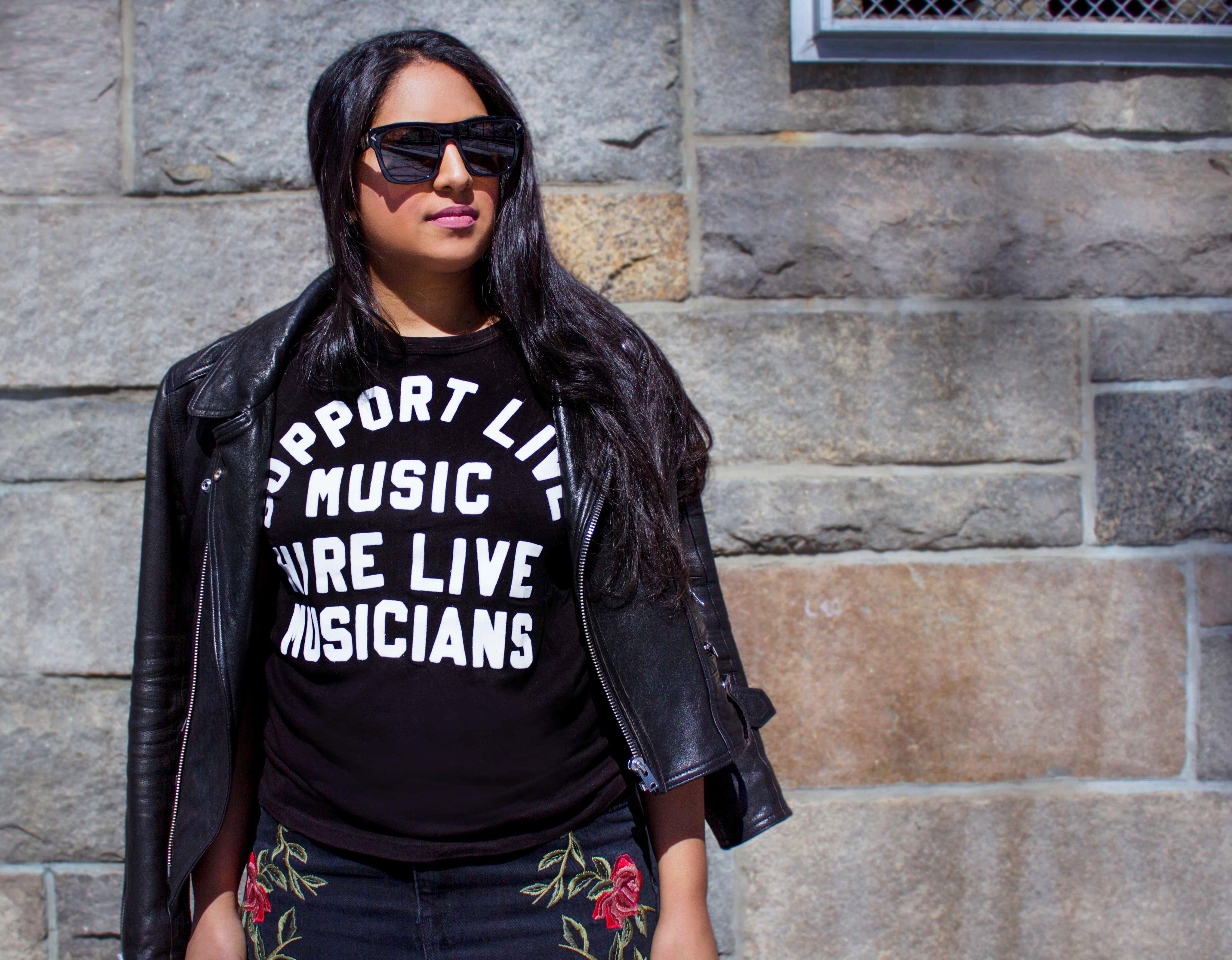 support-live-musicians-t-shirt